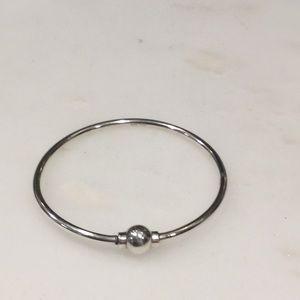 Cape Cod screwball bracelet Sz 6 sterling